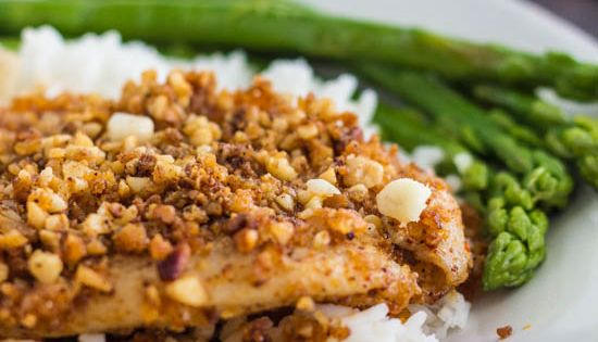 Crusted tilapia, Chili and Chili spices on Pinterest
