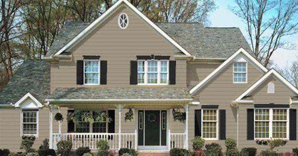 Brownstone Vinyl Siding Homeowner Architect Builder
