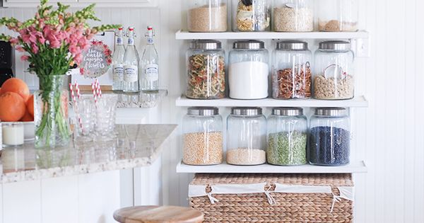 Open Shelving as a Storage Solution