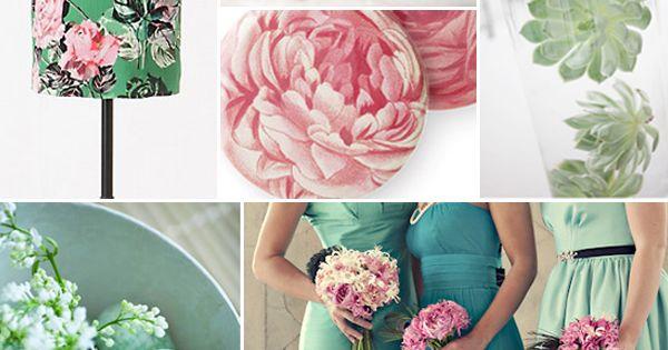 Jade + Pink