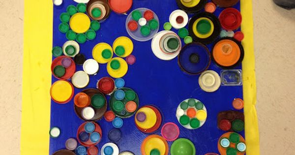 candice ashment art: REDUSE*REUSE*RECYCLE... Bottle Lids ...