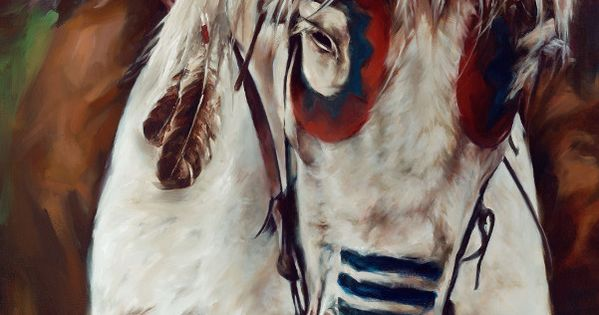 Native American War Horses | Native American Horse ...