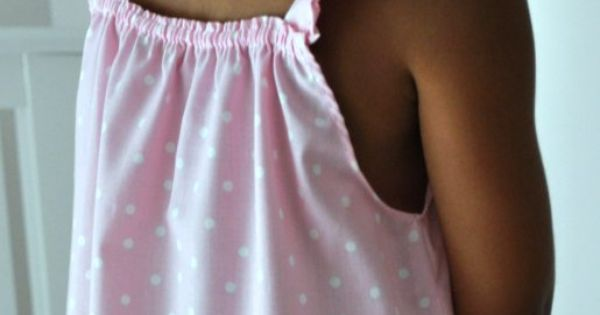 Diy Crafts DIY sewing tutorial for little girl's summer nightgown- easy and