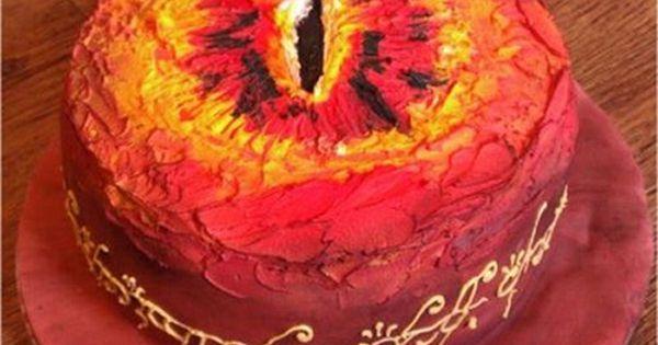 Cake Wrecks - Home - Sunday Sweets: VillainEdition - Eye of Sauron
