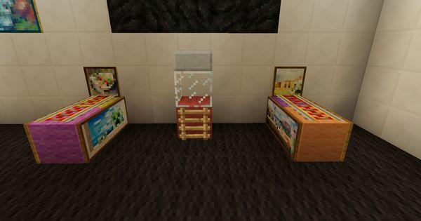 Minecraft Arcade Game Room Minecraft Furniture Minecraft Minecraft Designs