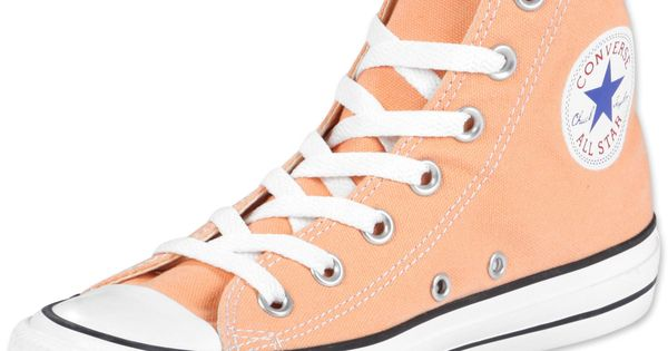 Converse All Star Hi shoes peach color