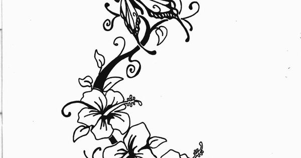 tatoo design that deserves to inspire a card - cardmaking papercraft butterfly