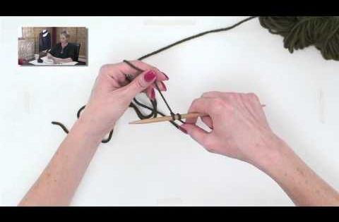 Knitting Long Tail Cast On Method : Knitting help long tail cast on slingshot method
