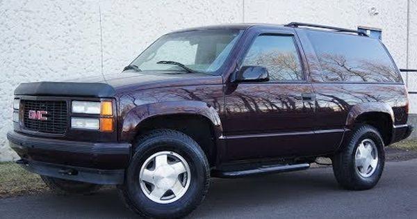 1996 Gmc Yukon 2 Door 4x4 Barn Doors Gmc Yukon 2 Door Tahoe Cool Cars