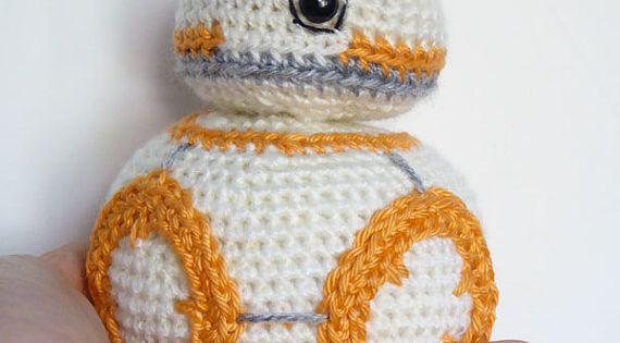 Free Star Wars Bb 8 Crochet Pattern : Star Wars BB-8 Crochet Pattern - BB8 Amigurumi Pattern ...