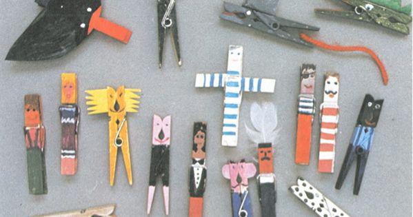 clothespin ideas