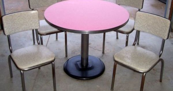 Chrome And Formica Dining Sets Images Of Rare 1950 S Art