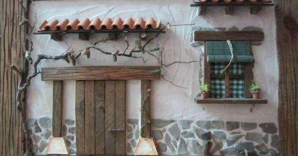 Cuadro fachada rustica artesanal foto 1 tejas for Fotos de fachadas de casas andaluzas
