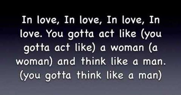 Think Like A Man Lyrics Guys Be Like Lyrics Man
