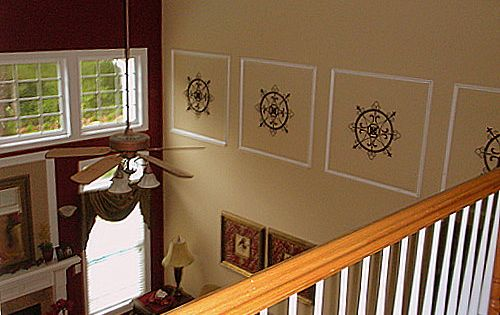 Two Story Foyer Wall Decor : Two story wall decorating ideas house pinterest