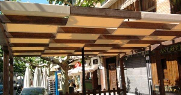Pergolas Con Telas Buscar Con Google Diseno De Terraza Pergolas Modernas Casas Pequenas