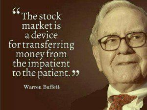 Warren Buffett Quotes, Patience & Investing, Value Investing ...