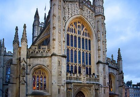 """Gothic Winter"" - Bath Abbey (Abbey Church of St. Peter and St."