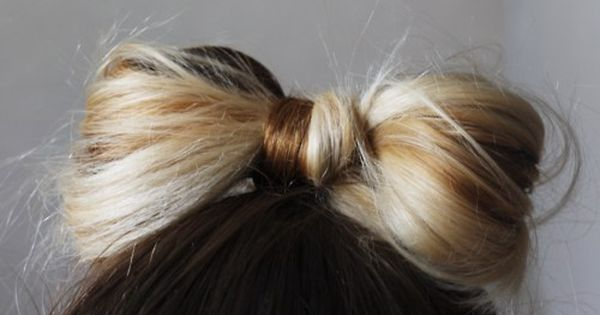 bow top knot