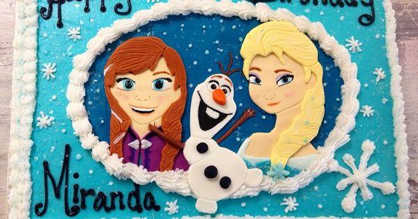 Elsa anna elsa and sheet cakes on pinterest