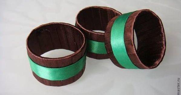 Custom handwriting paper napkin rings