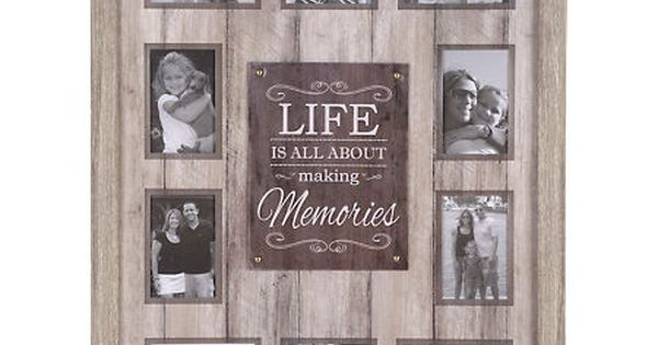 Life Is About Making Memories Collage Frame Kirklands