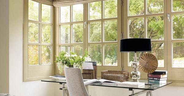 Wohnideen Fenstergestaltung blinds vaak de beste oplossing in de erker verschattungen raffrollo wohnideen