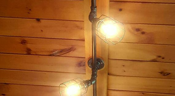 Rustic Industrial Track Lighting Commercial By