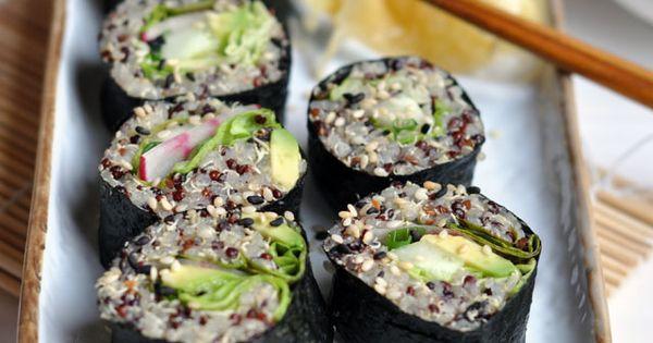 Quinoa Sushi Recipe