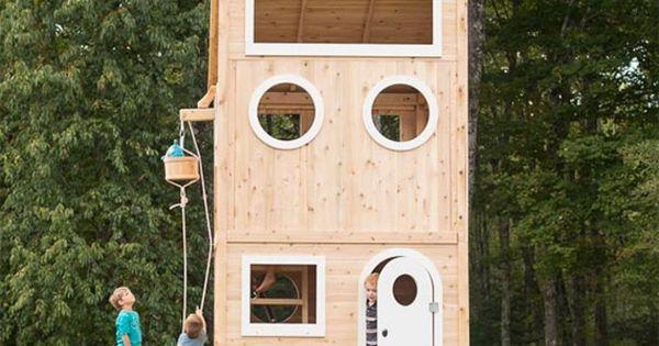 voici 15 magnifiques maisons pour enfants des cabanes dans les arbres faire r ver maison. Black Bedroom Furniture Sets. Home Design Ideas