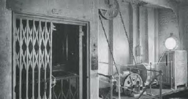 Titanic lift.