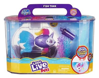 Little Live Pets Lil Dippers Fish Playset Unicornsea In 2020 Little Live Pets Pets Pet Fish