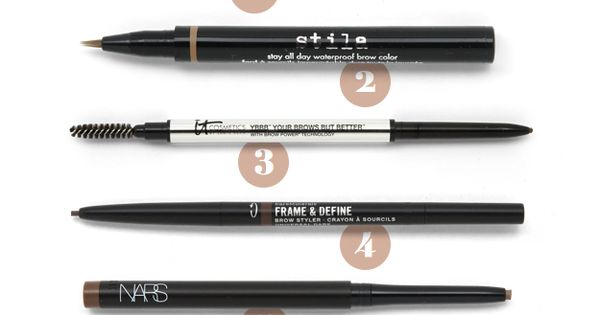Seven pencils for awesome, runway worthy brows!