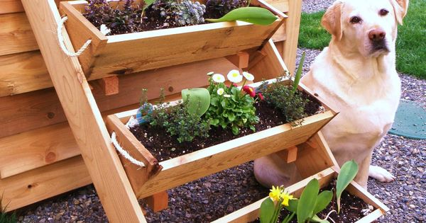 36 4 large planters raised bed vegetable garden for herb for Large vegetable garden