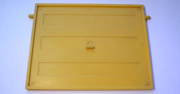 Dolls House Moulded Garage Door Yellow 1 16 Scale W 2 Lugs For Top Swivel Fix House Mold Doll House Dolls