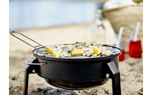 korp n portable charcoal grill ikea camper pinterest portable charcoal grill ikea. Black Bedroom Furniture Sets. Home Design Ideas