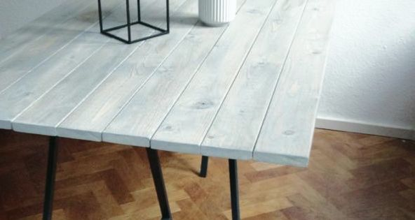 MY LATEST DIY: A NEW DINING TABLE Kan den bruges i haven?