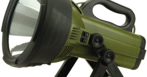 Robot Check Candle Power Handheld Spotlight Flashlight