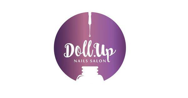 شعار Dull Up Salon صالون متخصص في طلاء الاظافر فكرة الشعا Instagram Nail Salon Poster