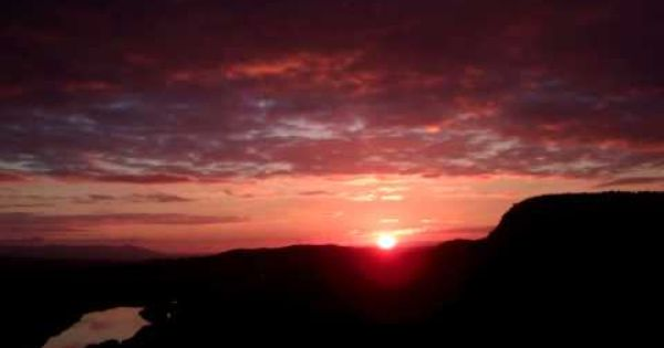 Autumn Setting Sun Tay Valley Perth Perthshire Scotland Youtube Sunset Fall Sets Scotland