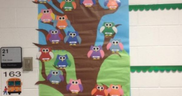 L 39 arbre de la classe id es pour la classe pinterest for Decoration porte ecole noel