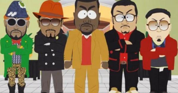 Kanye West On South Park Nitrolicious Com South Park Tommy Ton Kanye West
