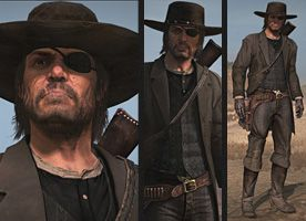 Red Dead Redemption Deadly Assassin Outfit Red Dead