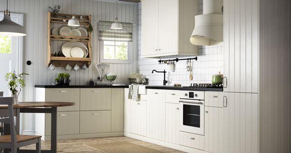 Ikea hittarp k k kitchen pinterest k k och stuga for Ikea keukens 2015