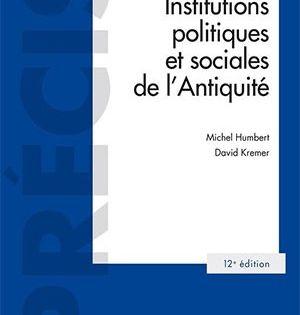 Institutions Politiques Et Sociales De L Antiquite 12e Ed En 2020 Politique Histoire Ancienne Democratie
