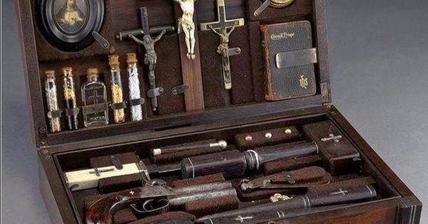 Image result for 1800's vampire Hunters kit