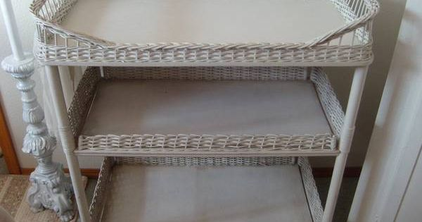 Vintage Wicker Changing Table Vintage Baby Pinterest