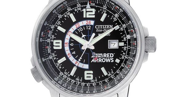 citizen watch eco drive red arrows nighthawk bj7050 54e