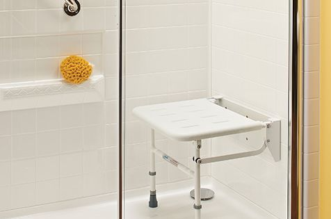 All-In-One Walk-In Sit-Down Shower | Aquability | house ... - photo#7
