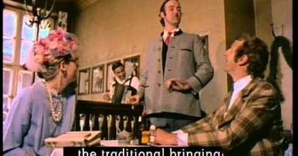 Monty Python Bavarian Restaurant Youtube Monty Python Comedians Bavarian Restaurant